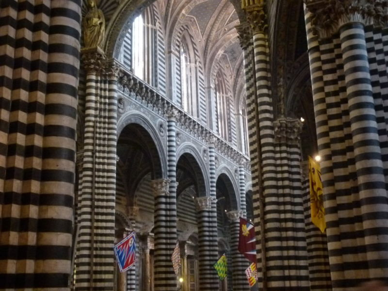 Siena cathedral shopping siena tuscany italy souvenirs duomo