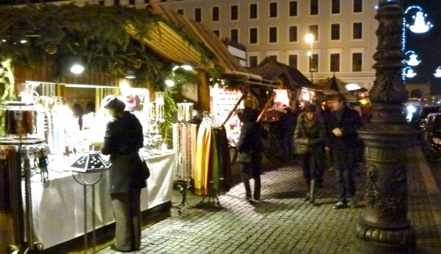 best christmas medieval market munich germany night shopping souvenir night jewelry