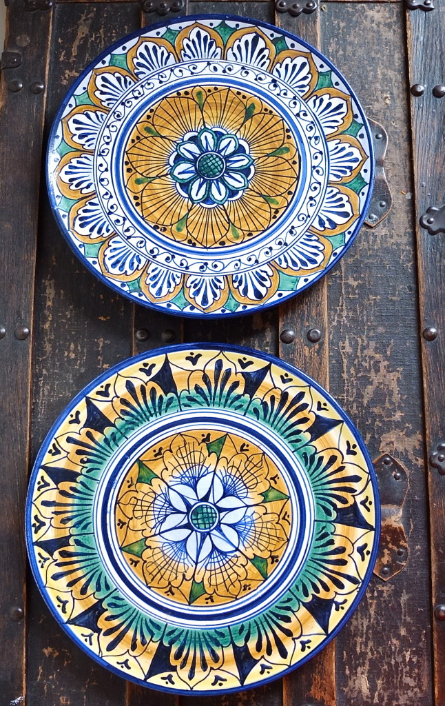 florence shopping ceramic plates