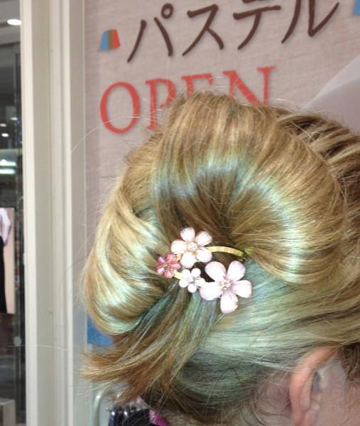 shopping japanese hair pins kyoto souvenir