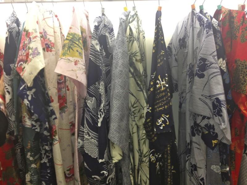 yukata shopping in tokyo Japan