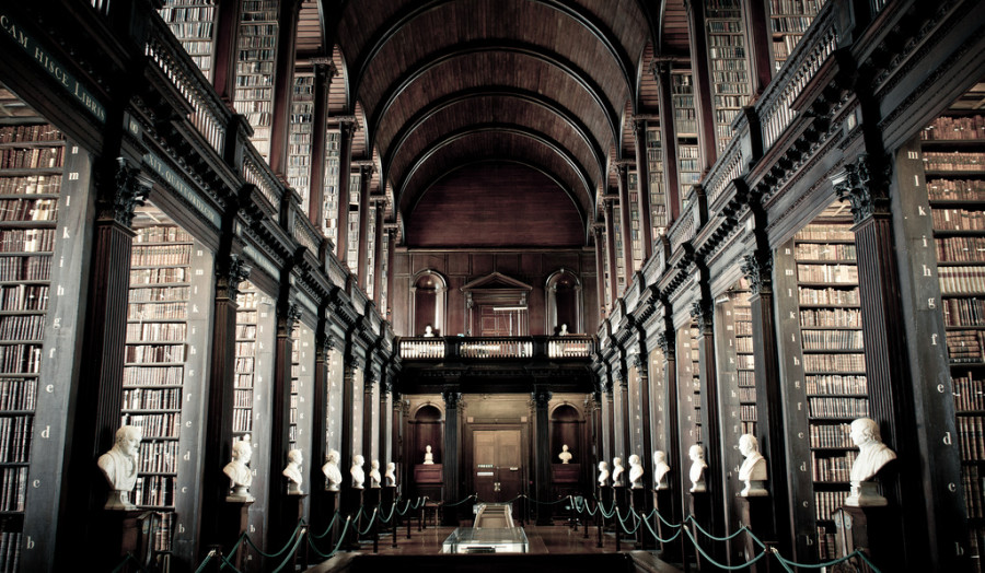 Dublin attractions Old Library Dublin Trinity College