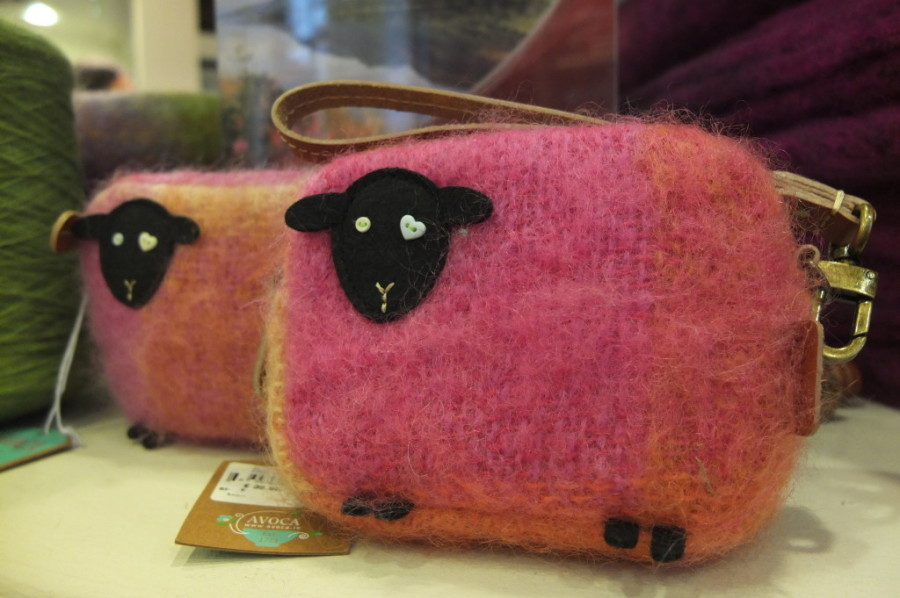 souvenir shopping Dublin Avoca wool sheep