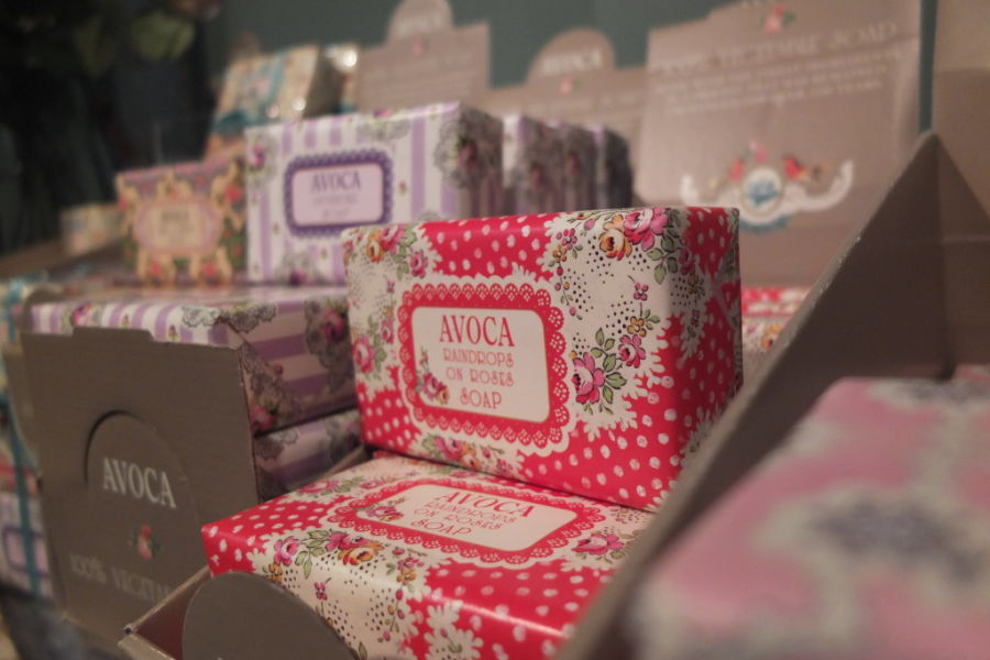 souvenir shopping Dublin Avoca soap