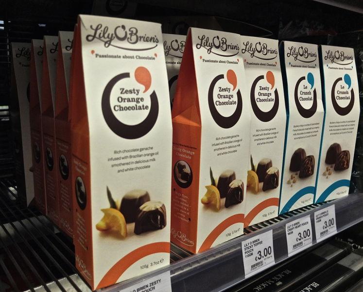 souvenir shopping dublin grocery supermarket lily chocolate