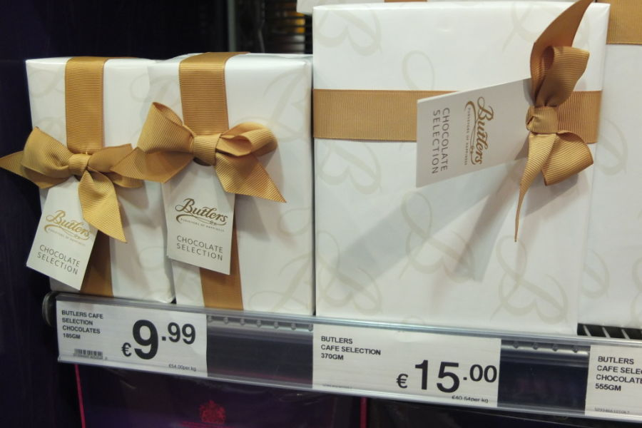 souvenir shopping dublin grocery supermarket butlers chocolate