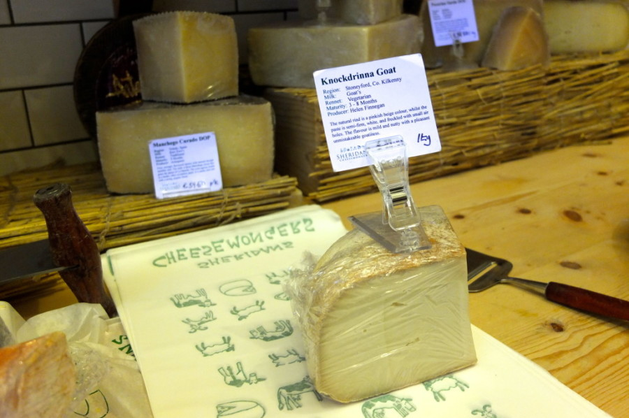 Sheridans cheese dublin exclusive ireland cheese goat knockdrinna