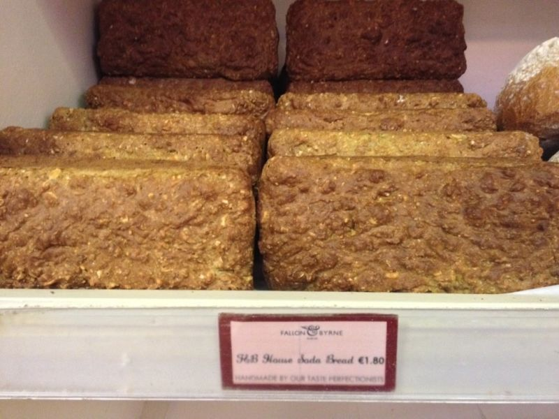Irish brown bread Dublin souvenir