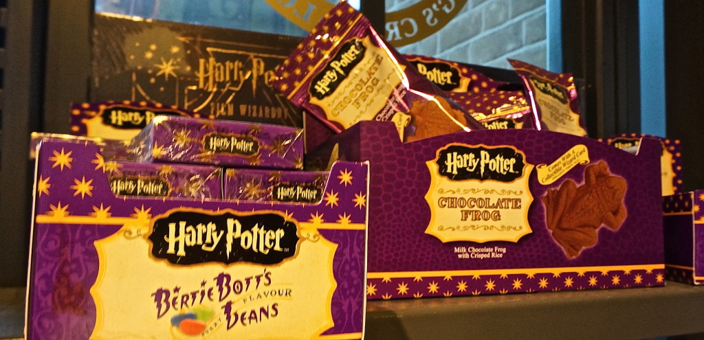 bertie botts beans chocolate frogs harry potter