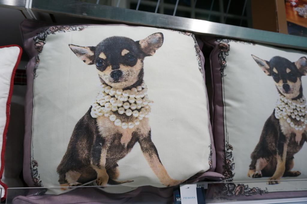 unique gift london chihuahua pillow primark souvenir