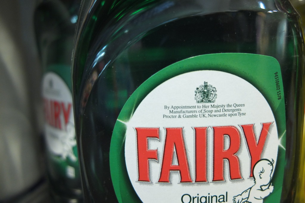 fairy dishwashing soap royal warrant england