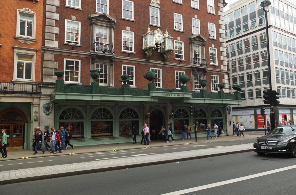 fortnum and mason storefront