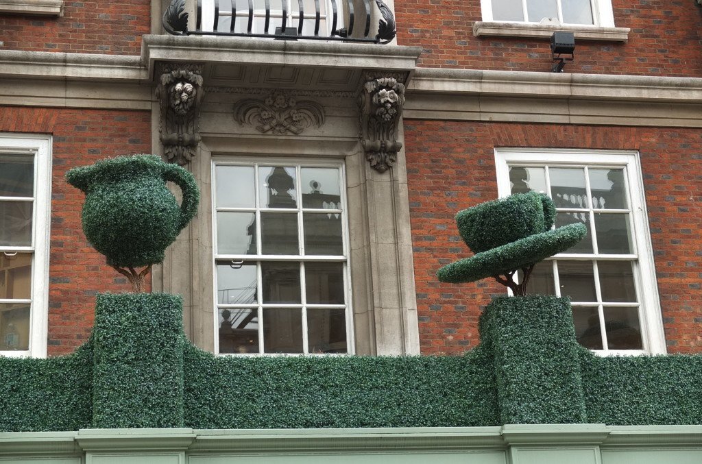 Fortnum and mason topiary