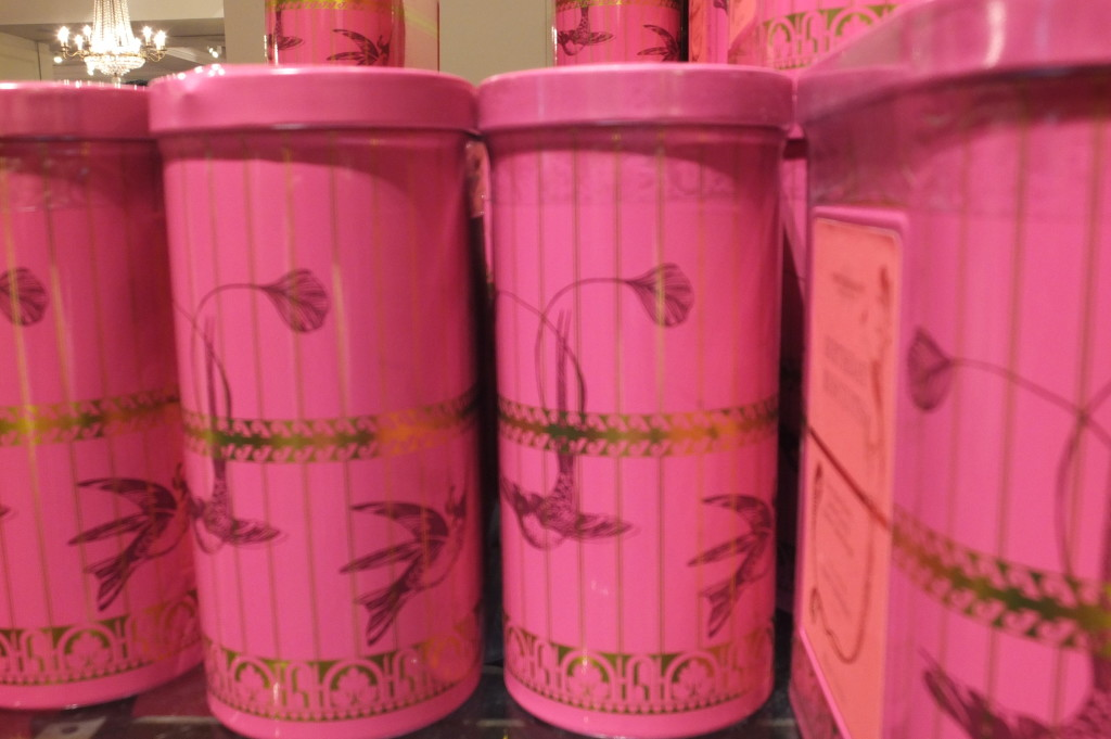 Fortnum and Mason biscuits cookies pink gift London