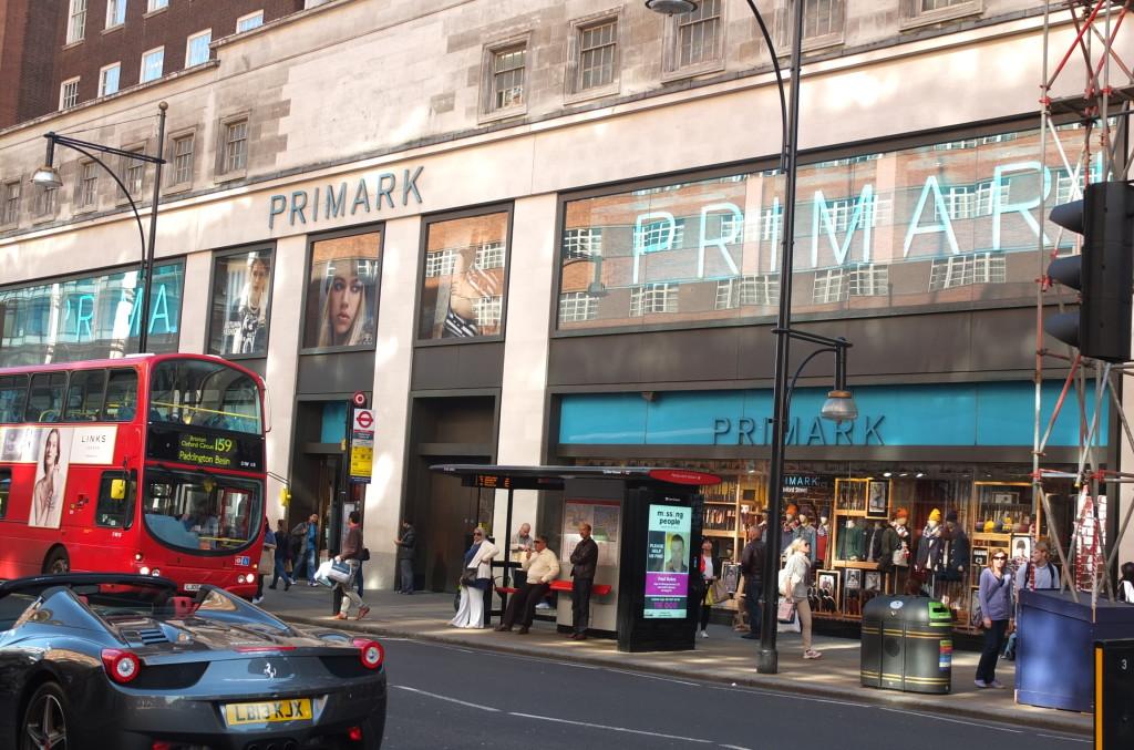 primark store london oxford