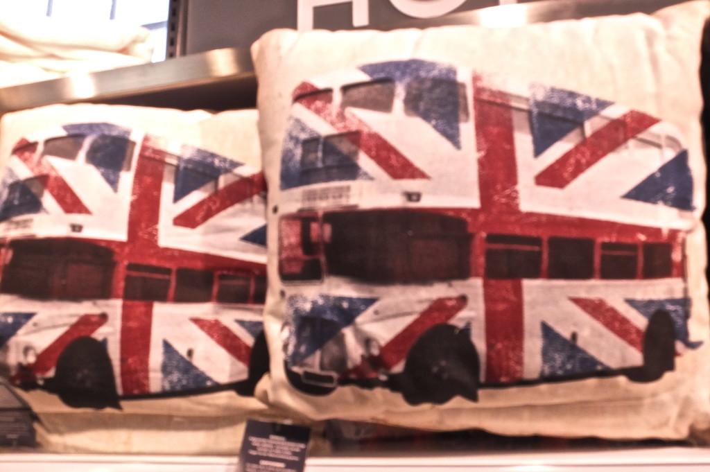 cheap london gift bus pillow primark souvenir