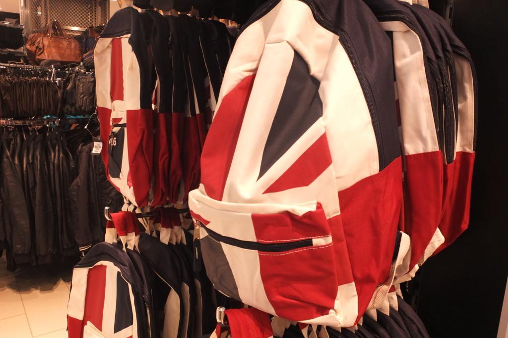 cheap london gift british flag backpack primark souvenir
