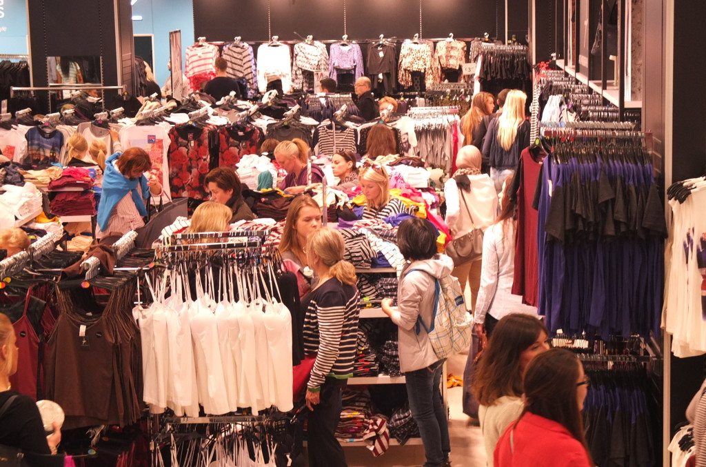 shopping at primark store london oxford