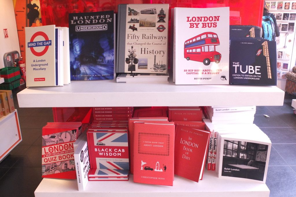 london transport museum gift shop souvenir books