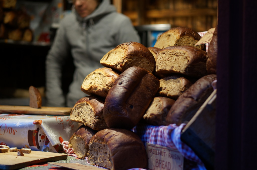 Swedish bread baked goods gamla stan christmas market review