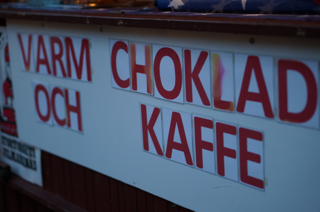 drinks vendor food hot chocolate gamla stan christmas market stockholm sweden