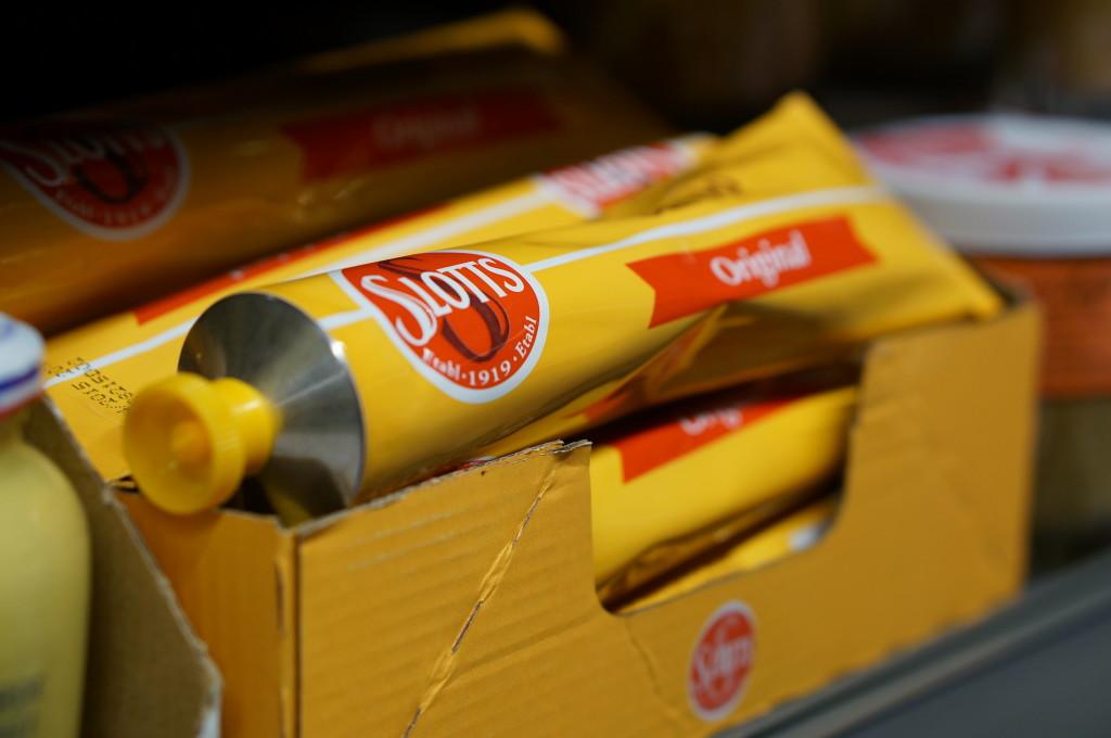 Swedish mustard Slott's Swedish food souvenir