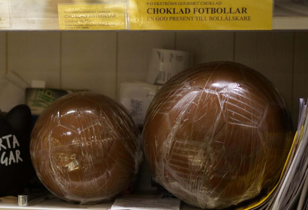 chocolate football soccer ball