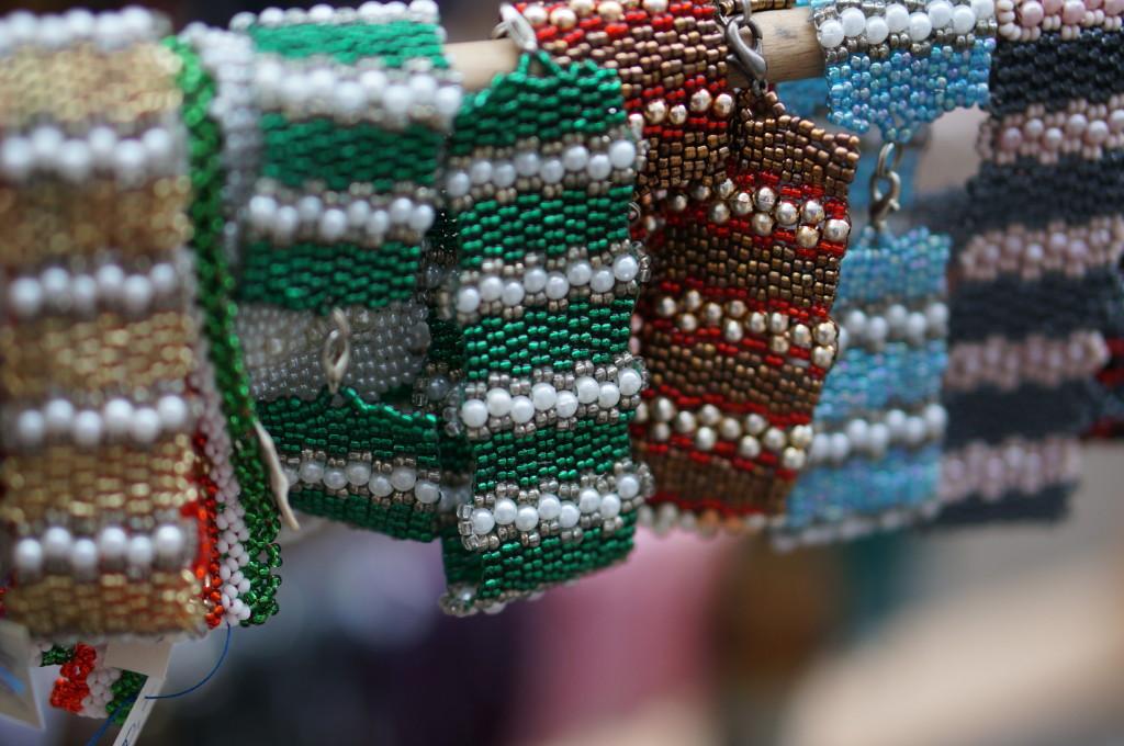 budapest christmas market souvenir hungarian  handmade craft Hand beaded bracelets