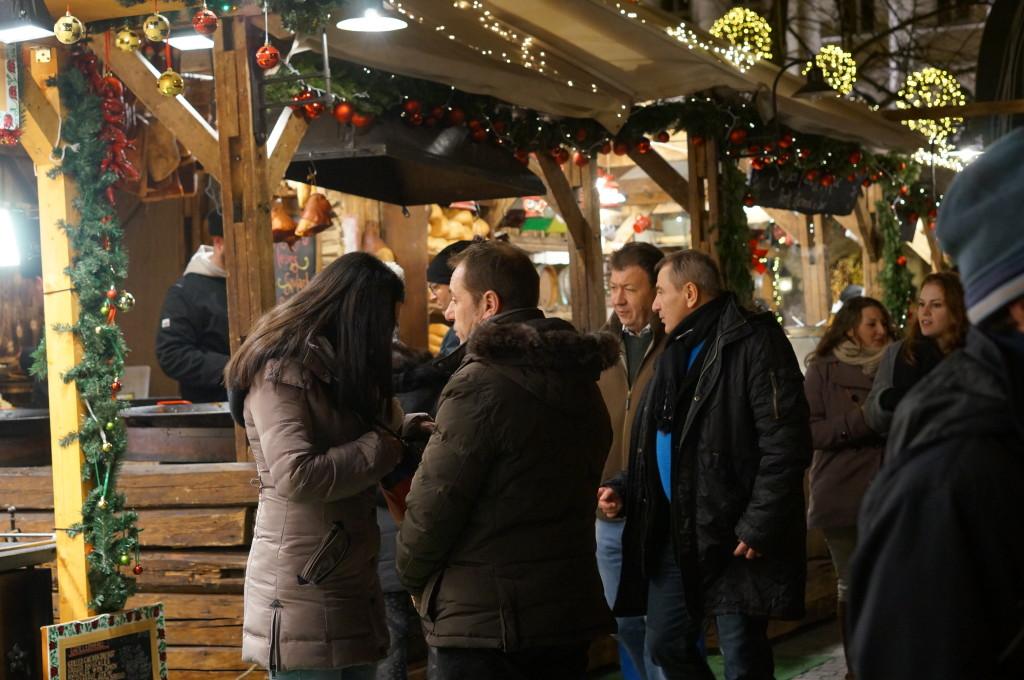 budapest christmas market fair
