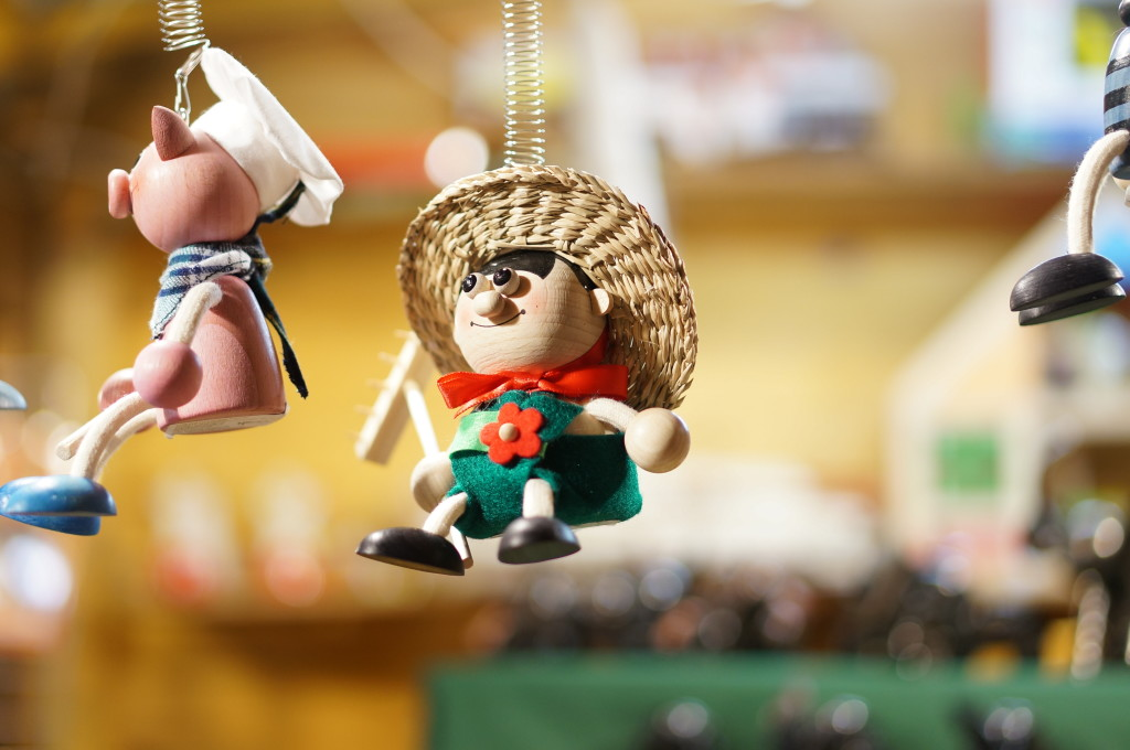 I Loved These Playful Hungarian Christmas Ornaments.