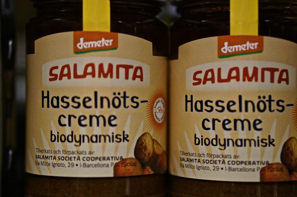 Samamita Hasseltnots-creme