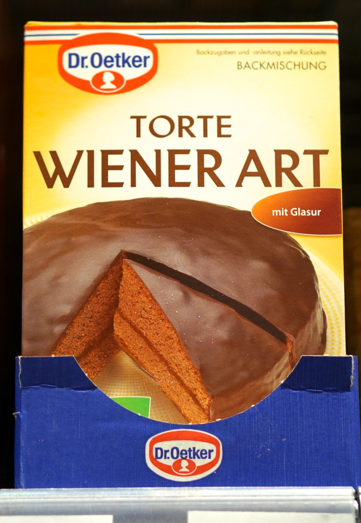 sacher torte cake mix
