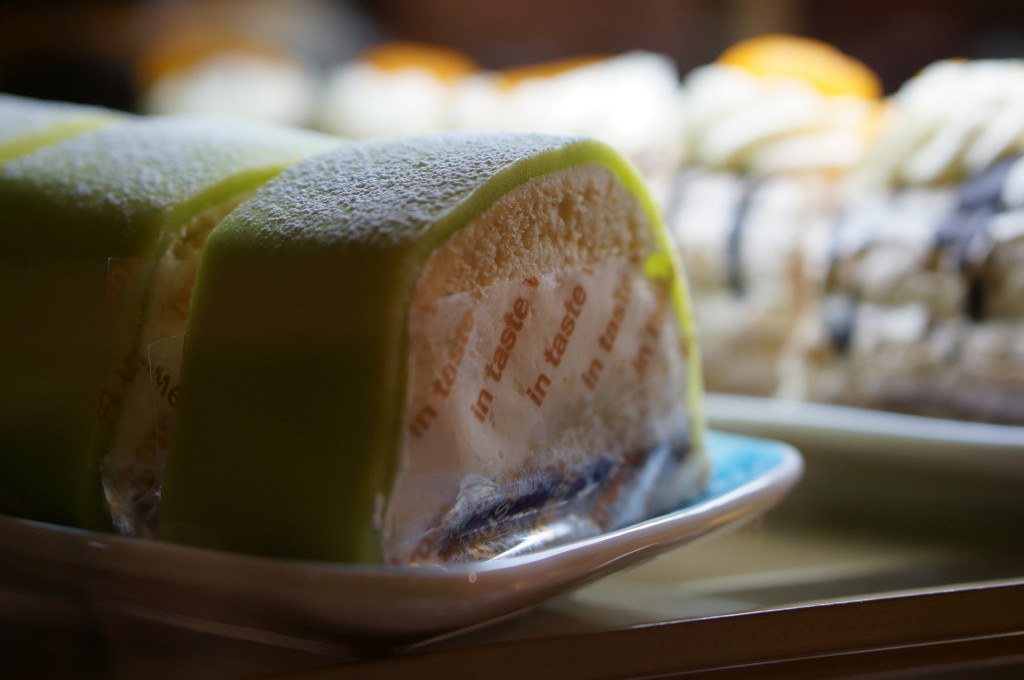 princess cake slice sweden