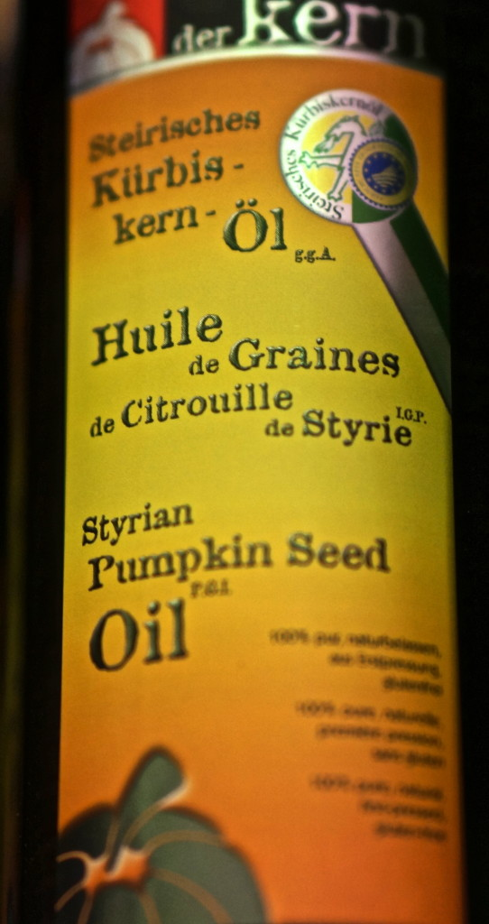 pumpkin seed olive oil from styria austria