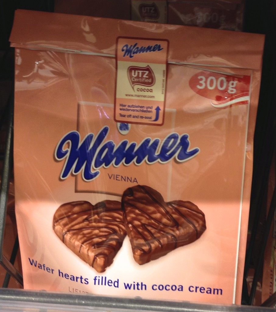 best vienna souvenir Manner chocolate hearts
