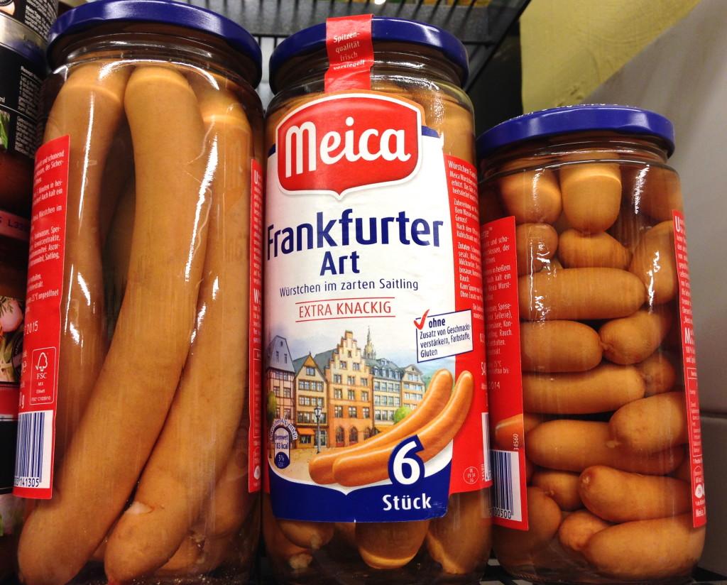 german frankfurters