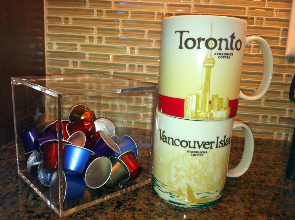 Starbucks Toronto mug Starbucks Vancouver mug travel souvenir