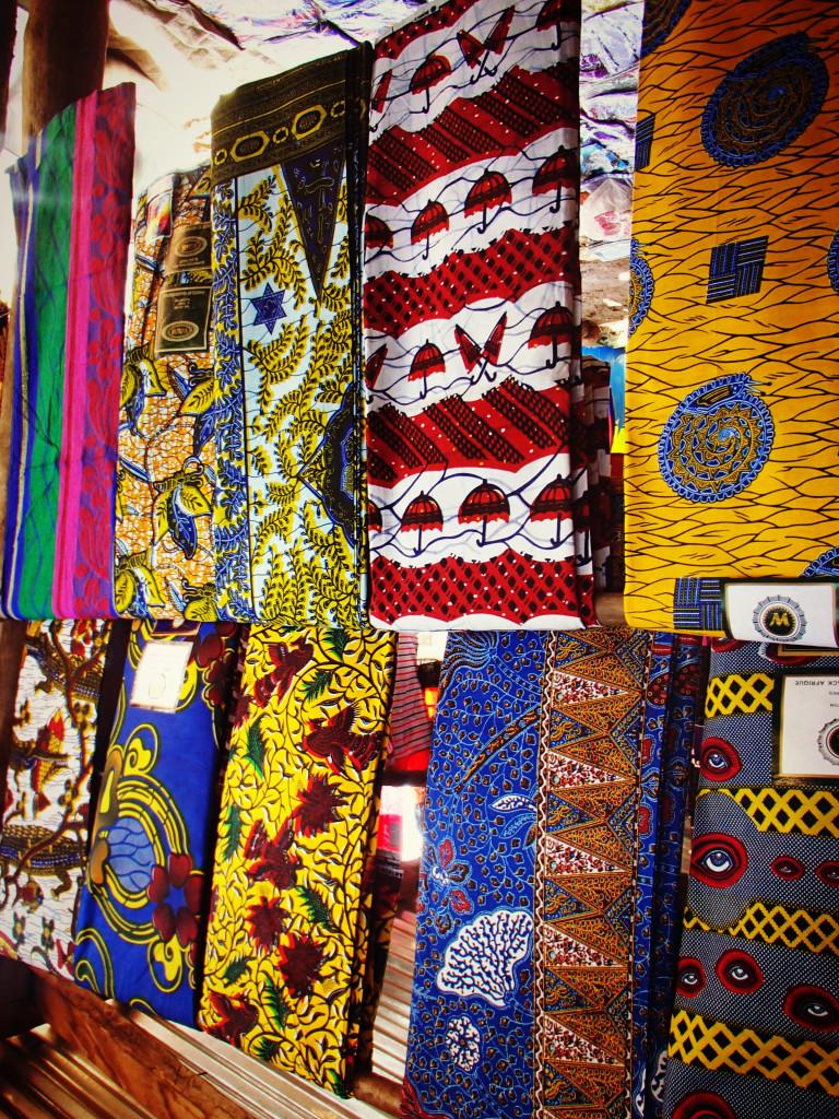 Ghana africa fabric textiles souvenir