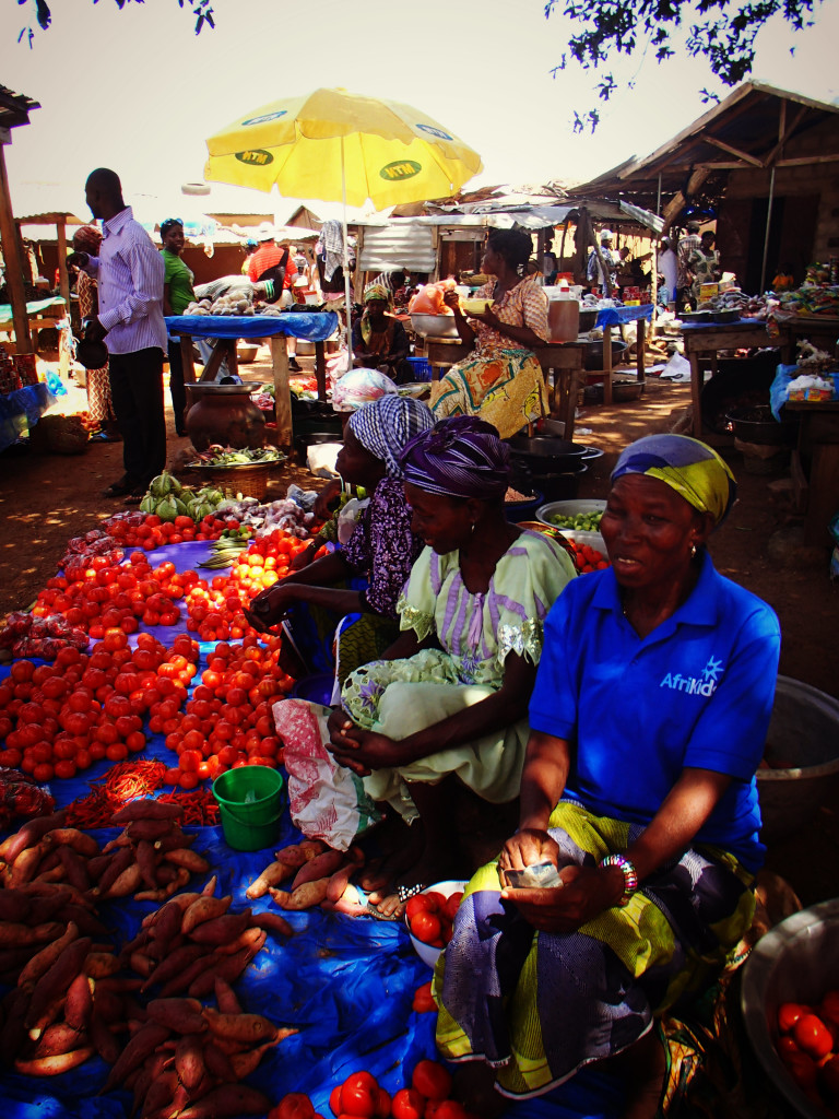 ghana africa market