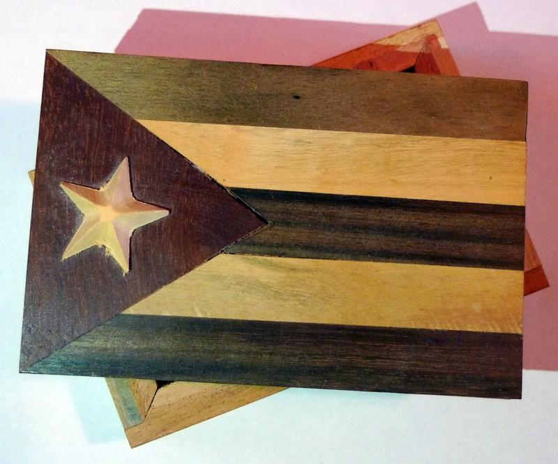 cuba souvenir Cuban Flag Box market