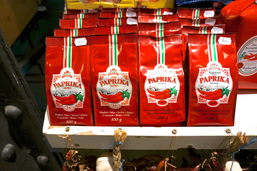 paprika from hungary souvenir central market