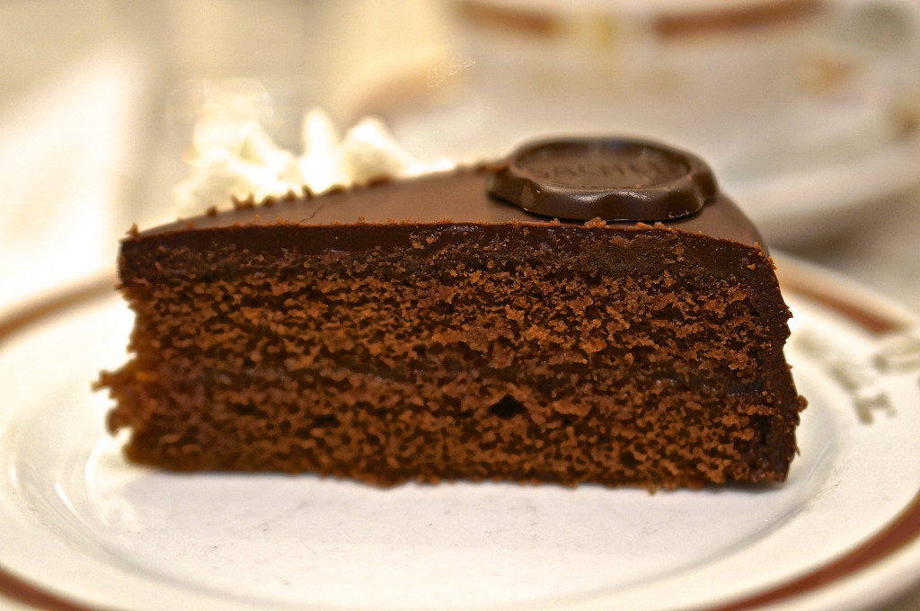 Sacher torte Cafe Sacher Vienna best