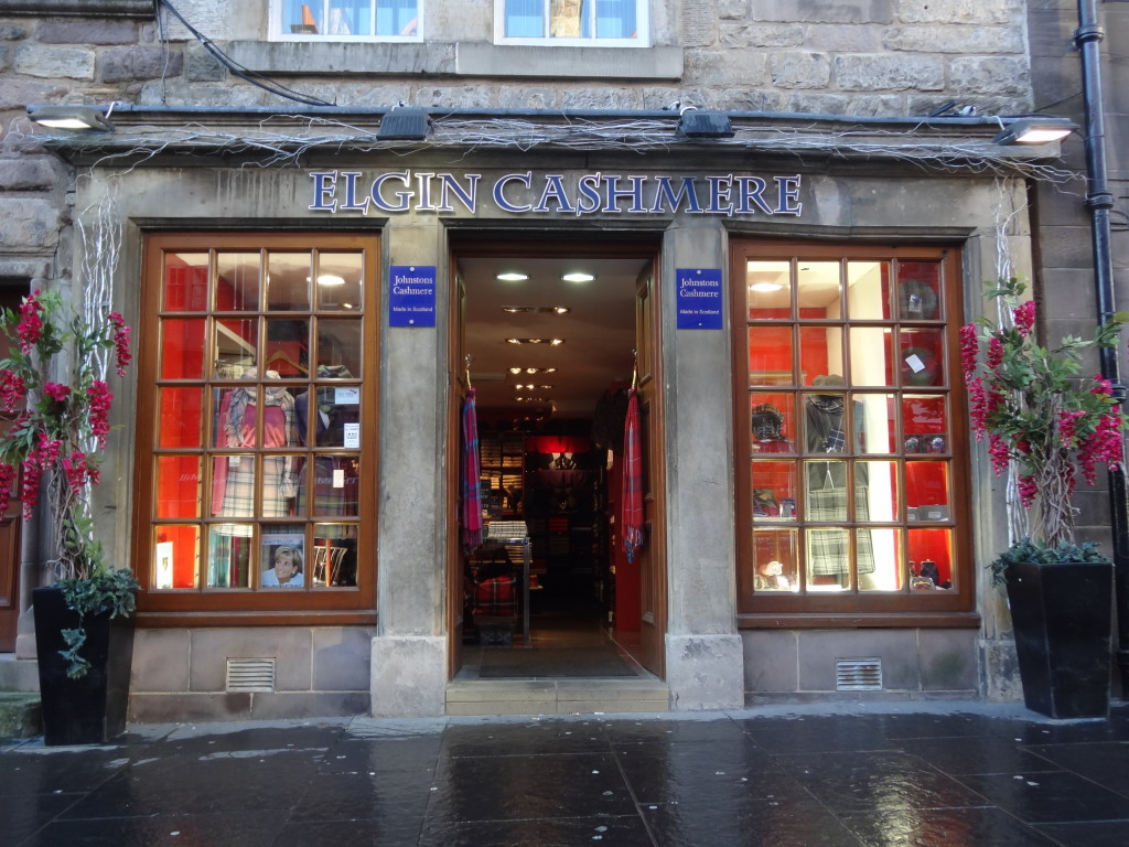 elgin cashmere shop royal mile edinburgh