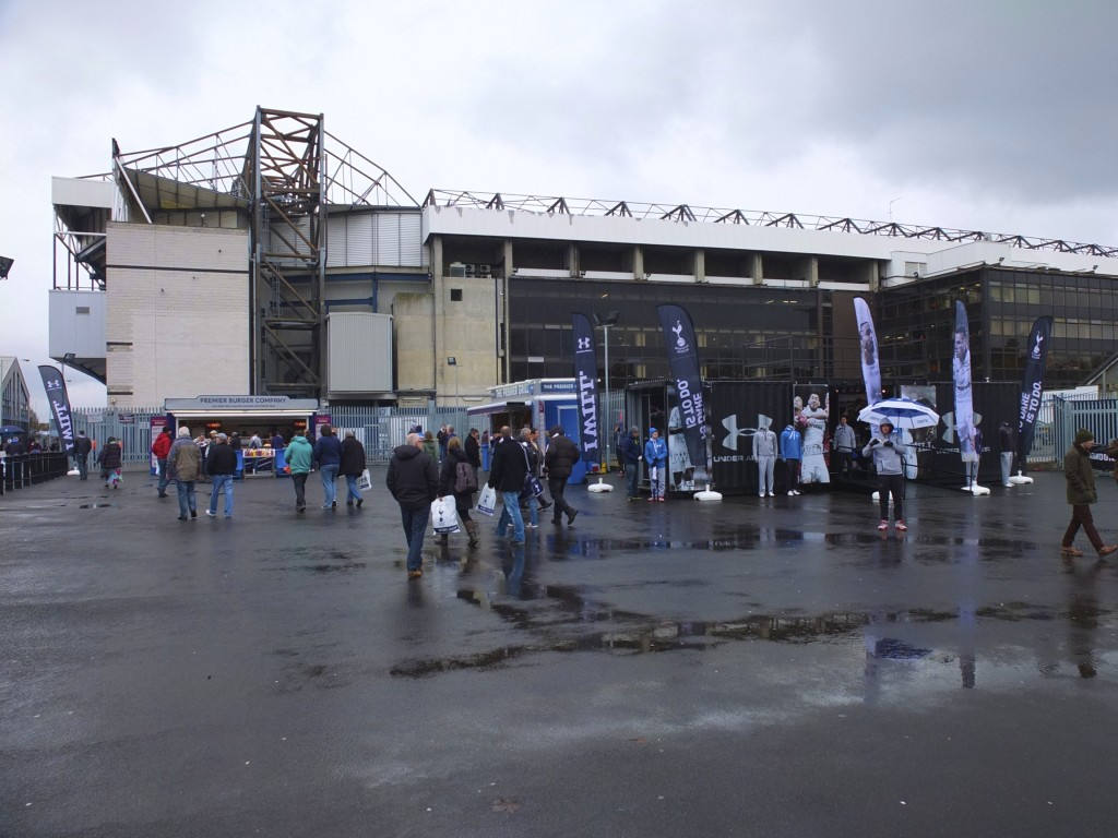 White Hart Lane stadium entrance