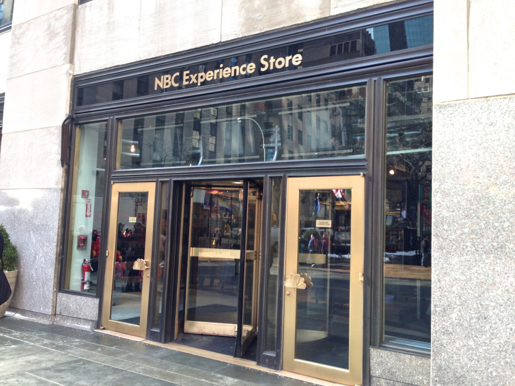 NBC Experience Store NYC Fallon