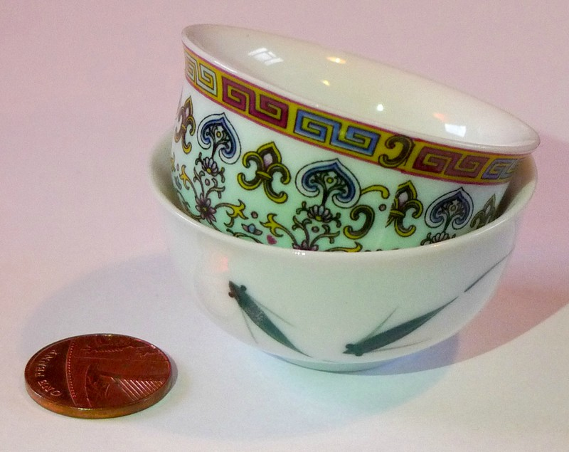 kuala lumpur malaysia souvenir Tiny Tea Bowls