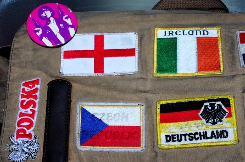 souvenir patches badges germany poland switzerland ireland france