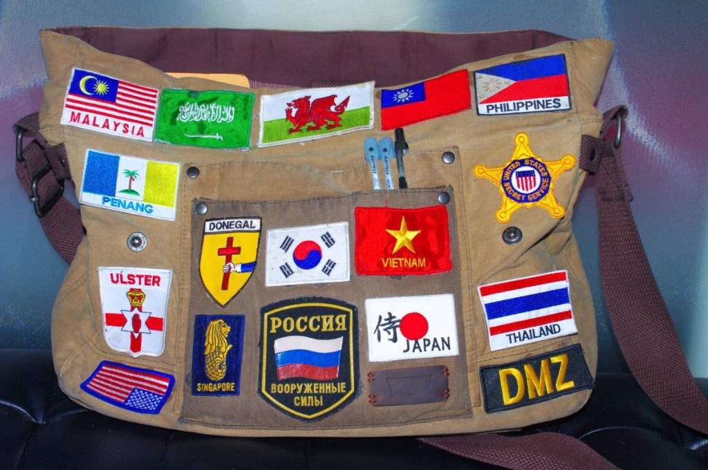 patch badge dmz singapore penang thailand usa malaysia secret service korea japan wales russia souvenir