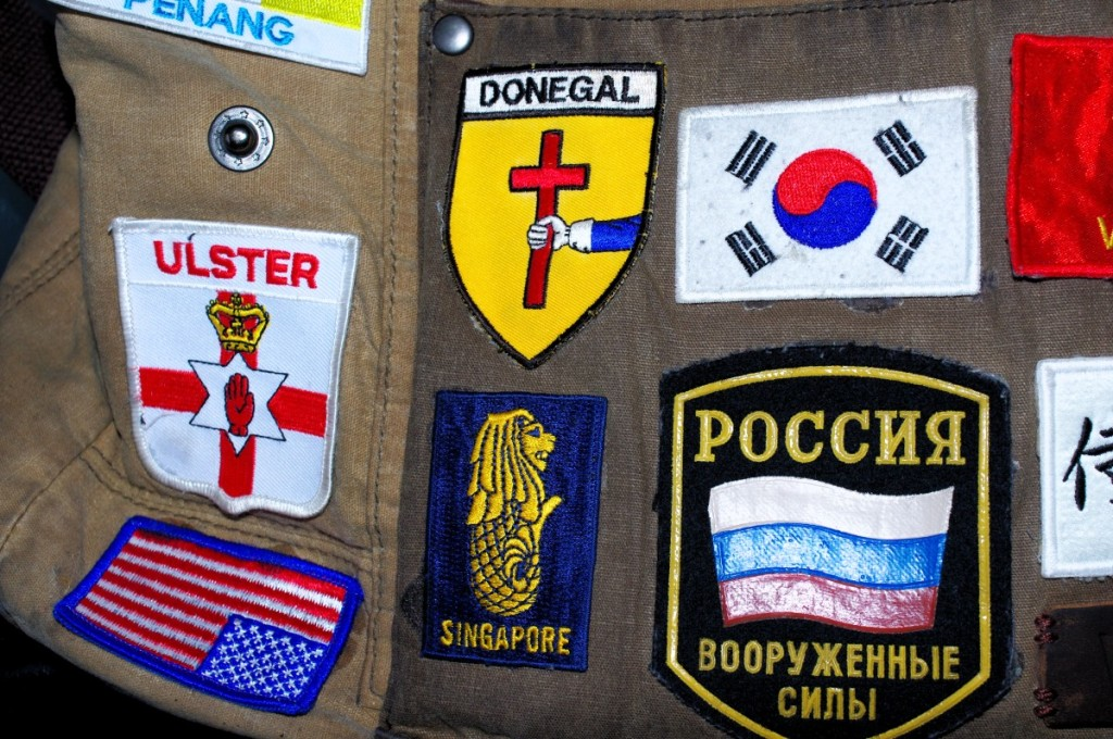 patch badge korea russia donegal penang usa america singapre