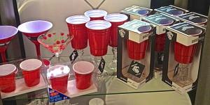 red solo cup martini wine glass shot glass